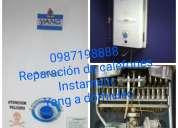0987198888 sangolqui reparacion de calefones garantía total conocoto