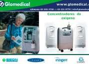 Concentradores de oxigeno.
