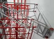 Escaleras mÓviles tipo aviÓn para uso industrial