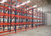 Soluciones de almacenaje para bodegas y almacenes