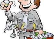 Necesitas un electricista ? servicos a domicilio las 24 horas del dia electricista con garantia