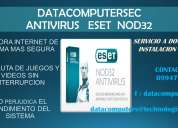 Venta de antivirus eset nod 32 instalacion gartis