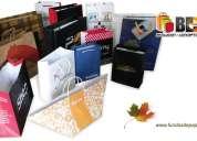 Boga empresa dedicada a la fabricacion de todo tipo  de empaques y fundas de papel y carton