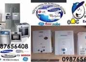§ tanda0998743809somos técnicos lavadoras secadoras refrigeradoras congeladores calefones la fosch
