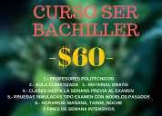 Curso ser bachiller ineval senescyt unificado 0990239387 prof. espol 2261261 garantizado!