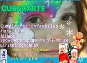 Fiestas de cumpleaÑos, animacion de fiestas de cumpleaÑos, en cuenca azuay