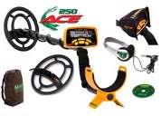 Ace 250 detector de metales delux sport pack