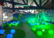alquiler: salas lounge de led inalambricas a control remoto