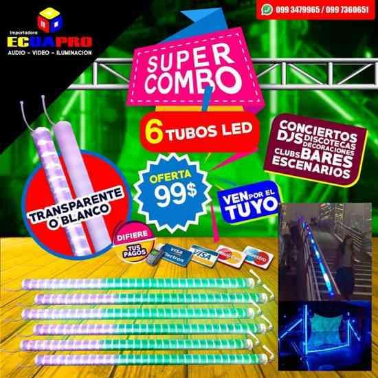 TUBOS LED DE VENTA EN ECUAPRO