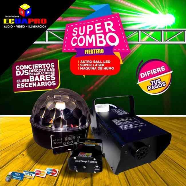 COMBOS PARA DJ`S DE VENTA EN ECUAPRO