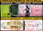 Cd originales impresion termica full copiado