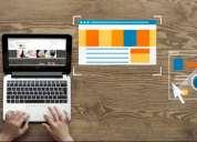 Aprovecha las ventajas del internet al obtener tu propia página web.