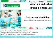Venta de instrumental médico.