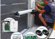 Servicio técnico/instalación motores para puertas & barreras vehiculares