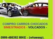 Compro vehiculos chocados – colisionados golpeados