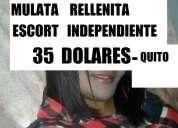Mulata rellenita escort independiente ! ysaura  sexo complaciente candente 0983897369