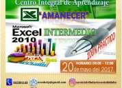 Curso taller excel 2010 intermedio