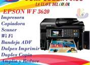 impresora epson wf 3620 con sistema de impresión de tinta continua