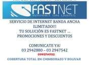 Internet banda ancha guaranda