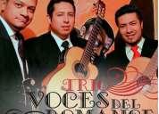 Serenatas con trio voces  del romance  - artistas, cantantes, músicos de quito lo mejor