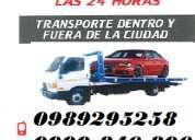 Servicio de grua en conocoto / quito movi: 0999846806