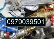 Auxilio inmediato plomero en cobre destape de cañerias 0979039501