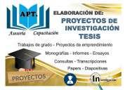 Asesoría - diseño tesis tungurahua para universidades, empresas y institutos tecnologicos