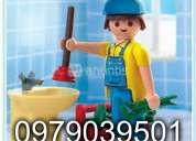 No competimos solo trabajamos plomero para todo destape de desagues 0979039501--