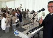 Piano y voz - wilson d. echeverría. todo evento social.