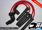 Cables de bujias de alto rendimiento chevrolet aveo 16v