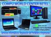 Servicio técnico de computadoras e impresoras a domicilio