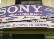 Sony servicio tecnico audio video linea blanca refrigeracion.