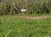 Se vende un terreno en el sector de ricaurte