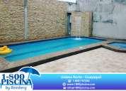 1-800 piscina... construccion y remodelacion de piscinas, jacuzzis y cascadas a nivel nacional