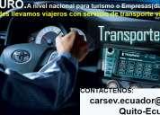 Servicio ejecutivo de transporte auto con chofer