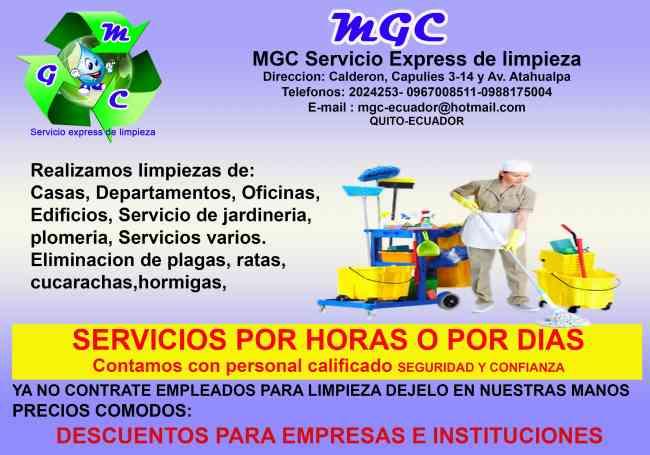 Servicio de limpieza oficinas casas departamentos por horas o dias quito doplim 924954 - Servicio de limpieza para casas ...