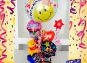Desayunos express - arreglosbos  con globos - regalos