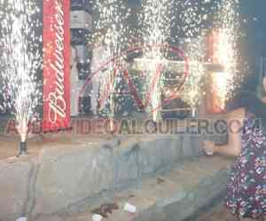 Alquiler de asientos iluminados en Guayaquil