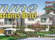 Inmoconstrucciones betel ofrecemos asesoría profesional en venta