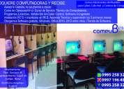 venta de computadoras y fabricación de mesas para cyber´s ,escritorios