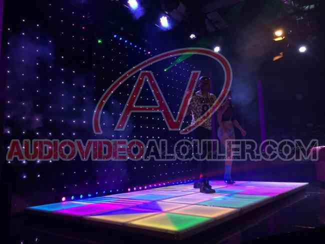 Alquiler de Telas de Luces LED