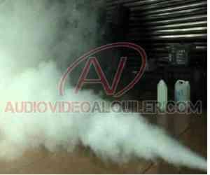Alquiler de Maquina de Neblina Con C02