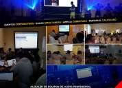 Alquiler de equipos de audio profesional