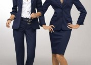 Uniformes administrativos para damas y caballeros