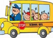 Puesto de transporte escolar