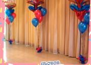 globos de helio y jarros sublimados