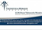 abogado oscar valenzuela