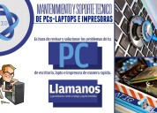 Mantenimiento de pcs, laptop e impresora
