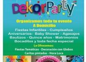 Decoraciones con globos, arreglos para fiestas infantiles, animacion y eventos