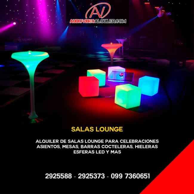 Salas LED y salas Lounge